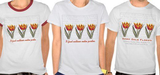Tulip T-shirts
