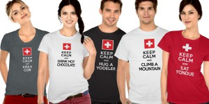 Keep Calm, We're Swiss – Funny Gift Swiss Theme Collection