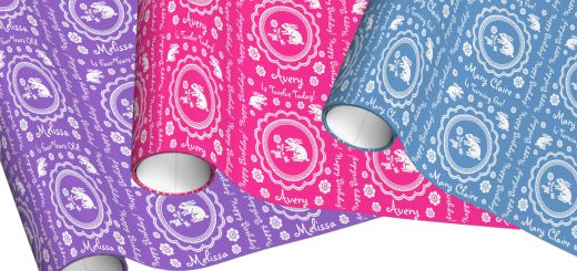Bunny Rabbit Birthday Wrapping Paper