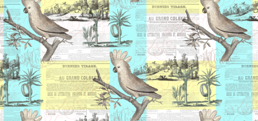 Vintage Cockatoo Pattern