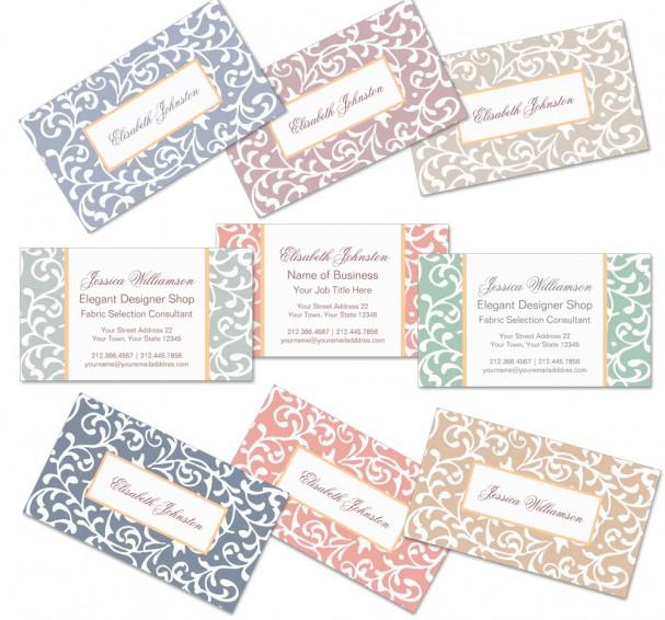 Tudor Gardens Business Cards