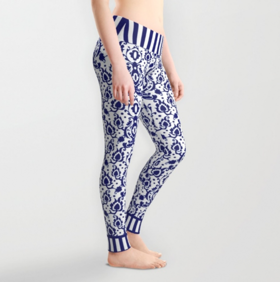Blue Casbah Leggings