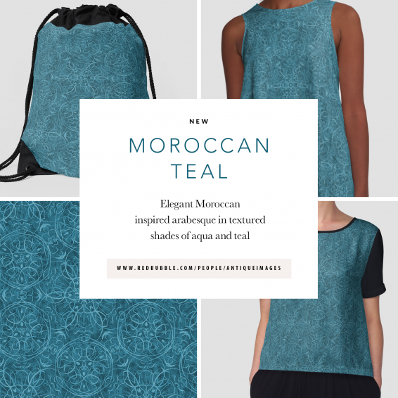 Moroccan Teal