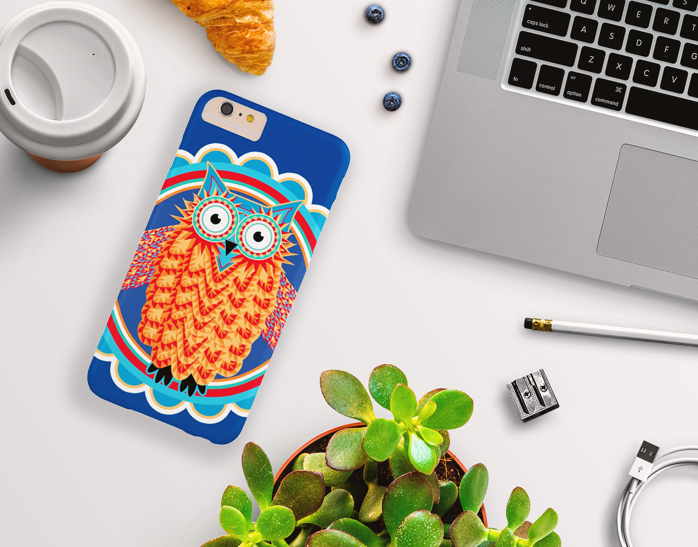 Owl Smart Phone Cases