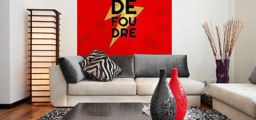 Coup de Foudre Wall Art