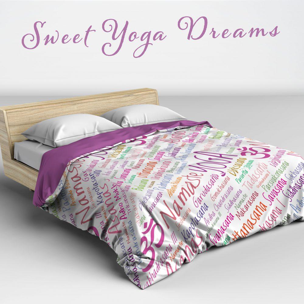 Yoga Lover's Duvet Cover